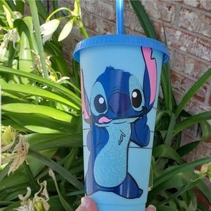 Starbucks color changing cold cup stich